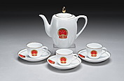 AN OFFICIAL PEOPLE'S REPUBLIC OF CHINA CERAMIC TEA SET