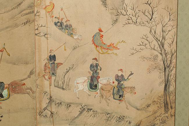 Qing dynasty art