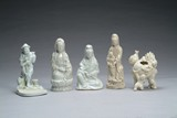 Five (5) Chinese Dehua Yao style figures