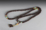 A STRAND OF 108 SACRED FIGS PRAYER BEADS