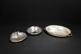 A GROUP OF THREE SILVER DISHES BY REED & BARTON