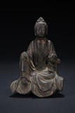 A BRONZE FIGURE OF IMMORTAL
