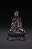 A BRONZE FIGURE OF AMITABHA