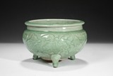 A LONGQUAN CELADON COLOR CENSER