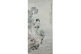 SHEN XINHAI: INK AND COLOR 'FIGURES' PAINTING