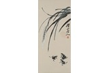 QI BAISHI: COLOR AND INK 'FROGS' PAINTING