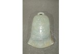 A WHITE JADE 'BELL' INKSTONE