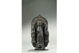 A BRONZE VOTIVE FIGURE OF SHAKYAMUNI AND ATTENDANTS