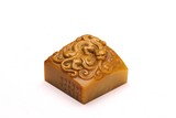 A CHINESE SHOUSHAN STONE 'DRAGON' SEAL
