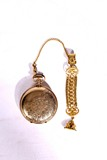 A VINTAGE TRENTON POCKET WATCH