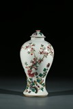 A CHINESE FAMILLE ROSE 'FLOWERS' JAR AND COVER