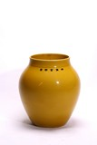 A LARGE CHINESE IMPERIAL YELLOW GLAZE JARDINIERE