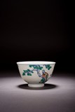 A CHINESE DOUCAI ENAMELLED 'FIGURES' BOWL
